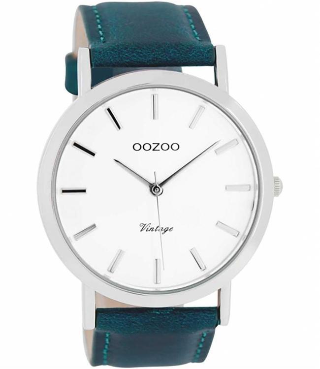 Oozoo Uurwerk Aqua Blue