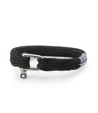 Pig & Hen Pig & Hen - armband Sharp Simon Black M