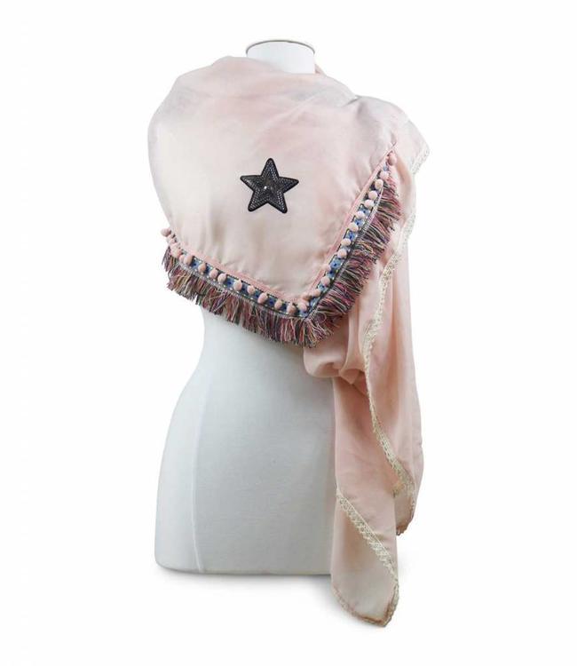 Miracles Sjaal Ibiza Pink