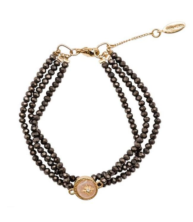 Hipanema Armband Celestine Black
