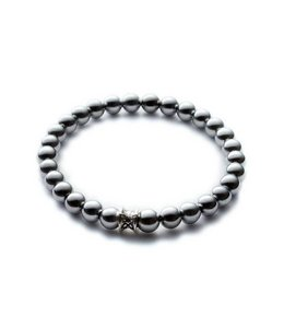 Gemini Armband Basic Silver 6mm