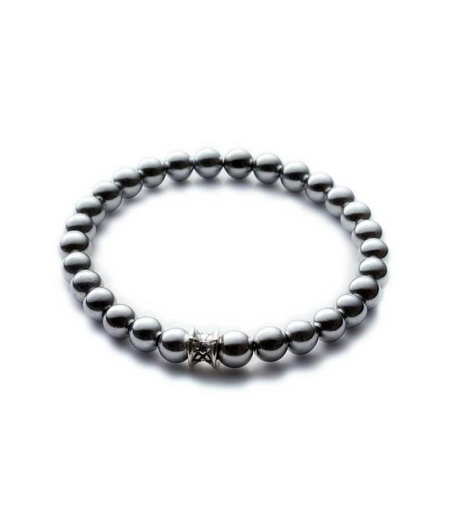 Gemini Armband Basic Silver 6mm