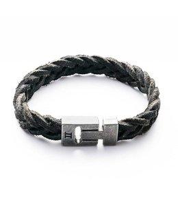 Gemini Armband Leather Black