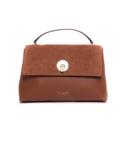 Ted Baker Handtas Suede Circle Lock XBody Bag