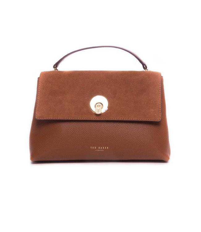 Ted Baker Ted Baker - Suede Circle Lock XBody Bag