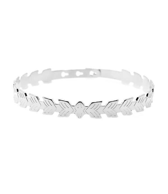 Armband Leafs Zilver