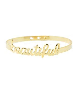 Armband Beautiful Gold