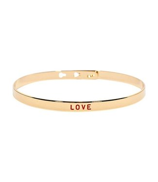 Armband Love Rouge Gold