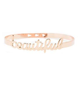 Armband Beautiful Pink Gold
