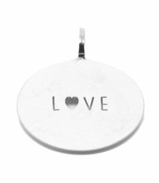 Hanger silver LOVE