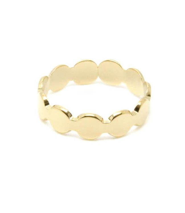 Ring Circle Hoop Gold