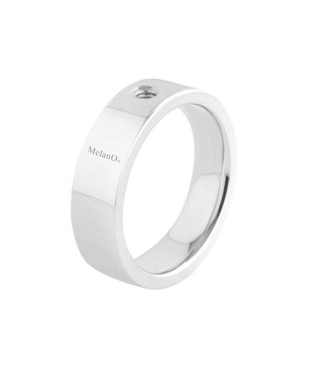 MelanO Twisted ring Tatum, Stainless Steel, breed