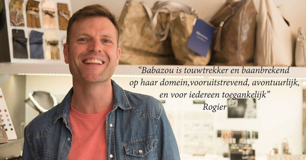 Rogier, verantwoordelijke voor Babazou Sint Denijs Westrem