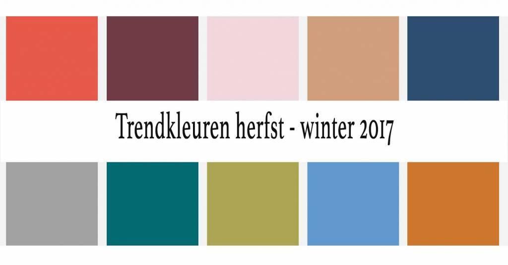 Herfst- en wintertrends 2017