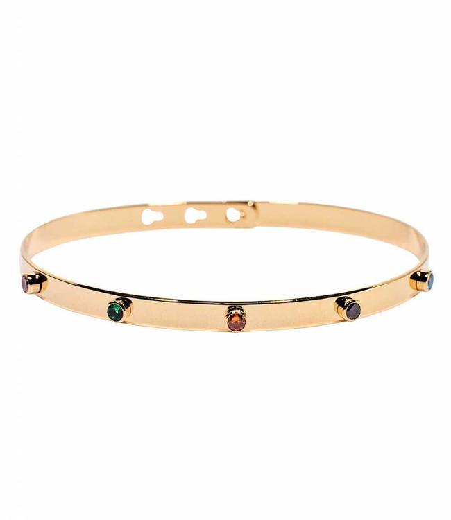 Armband 5 Stones