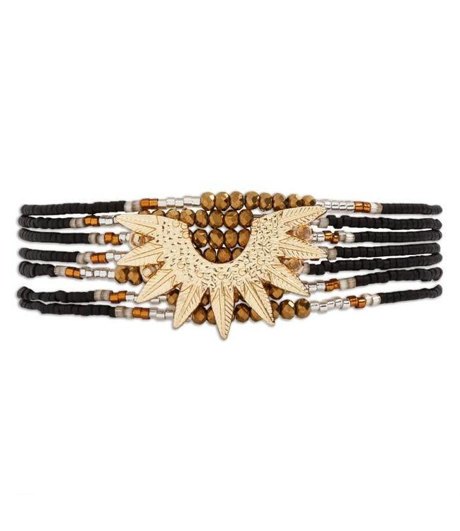 Hipanema Armband Marlowe black