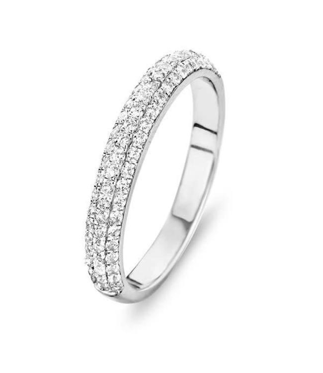 Silver Rose Ring Silver Princesse