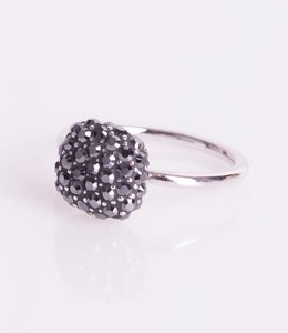 Phantasya Ring Crystal Square Black