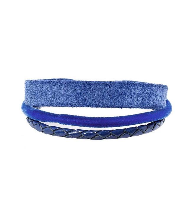 Souvenirs de Pomme Armband Multi Starlight Blue