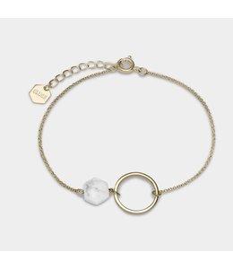Cluse Armband Stone Gold