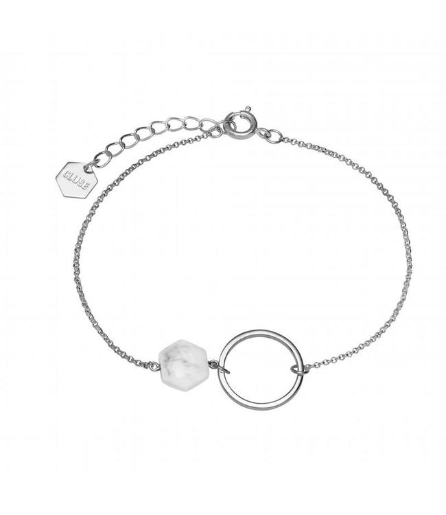Cluse Armband Stone Silver