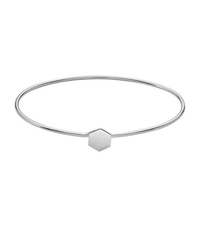 Cluse Armband Bangle Hexagon Silver