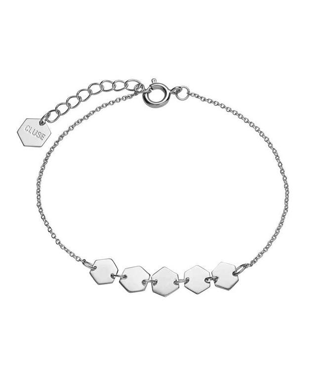 Cluse Armband Alice Zilver