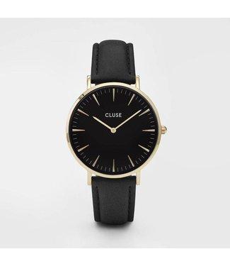 Cluse Watch La Bohème gold black/black