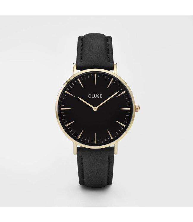 Cluse Uurwerk La Bohème gold black/black