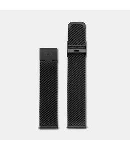 Cluse Uurwerkbandje La Bohème strap mesh black
