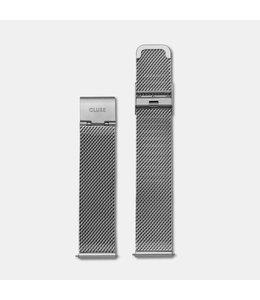 Cluse Uurwerkbandje La Bohème strap mesh silver