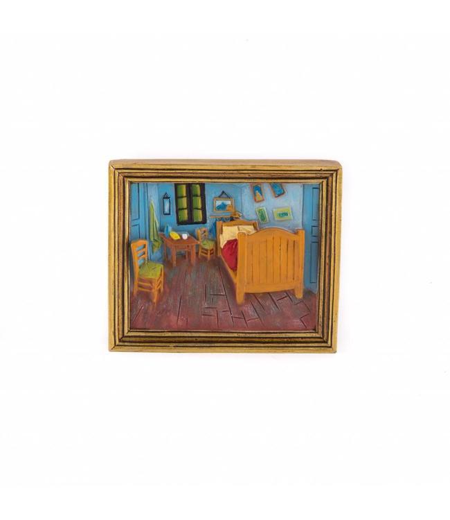 12 stuks magneet polystone Slaapkamer - Vincent van Gogh - Matix ...