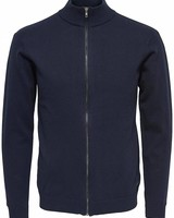 Only & Sons vest Onst Lucky High Neck Cardigan - Dark Sapphire