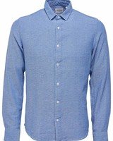 Only & Sons overhemd Onsr Nicholas Ls Mel Shirt - Ensign Blue