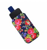 Accessorize Accessorize Navy Rose telefoonhoes