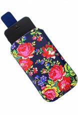 Accessorize Navy Rose telefoonhoesje universeel
