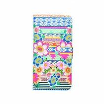 Aztec Floral - book case (iPhone 6/S)