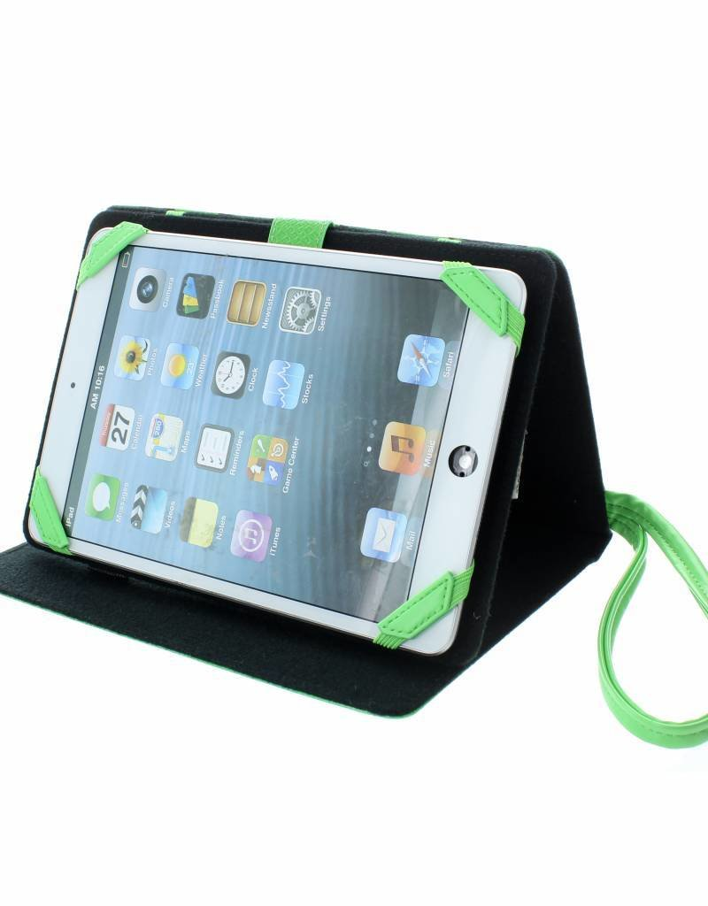 """TabZoo Slang - tablet case met bewegende oogjes (7/8"""")"""