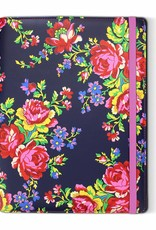 "Accessorize Navy Rose tablet case (7/8"")"