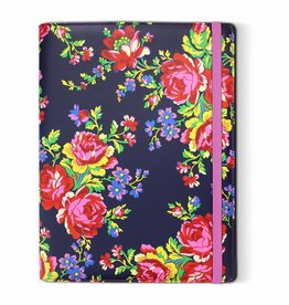 "Accessorize Navy Rose - tablet case (7/8"")"
