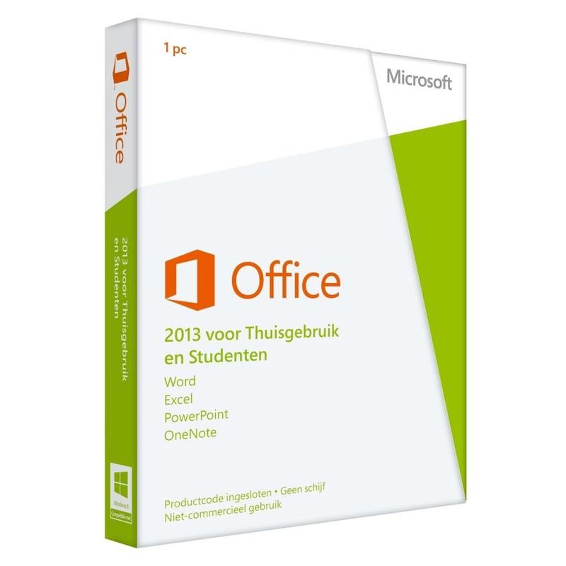 Microsoft Microsoft Office 2013 Home Student