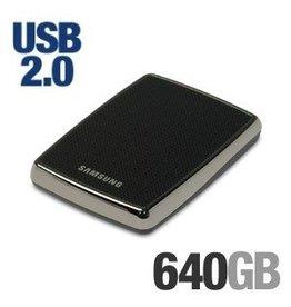 Samsung Samsung S2 Protable external HDD 640 GB 2.5 inch USB 2.0 Zwart