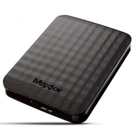 Logilink Maxtor M3 Portable 1 TB External Hard drive USB 3.0 Zwart