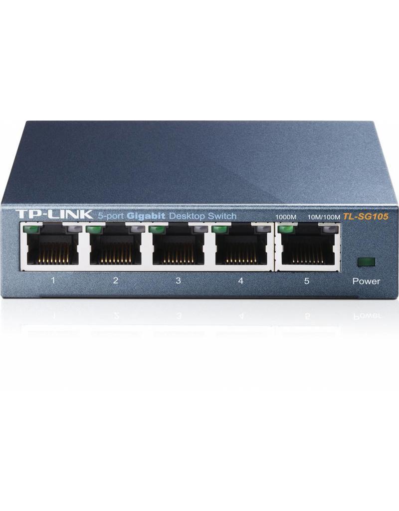 TP-Link TP-Link TL-SG105 5 poort gigabit switch metal