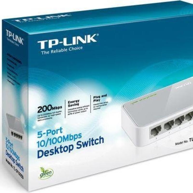 TP-Link TP-Link TL-SF1008D 8 Poort 100 mb switch