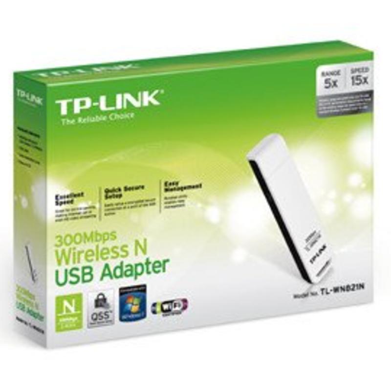 TP-Link TP-Link TL-WN821N USB WIfi dongel 300 MB wit