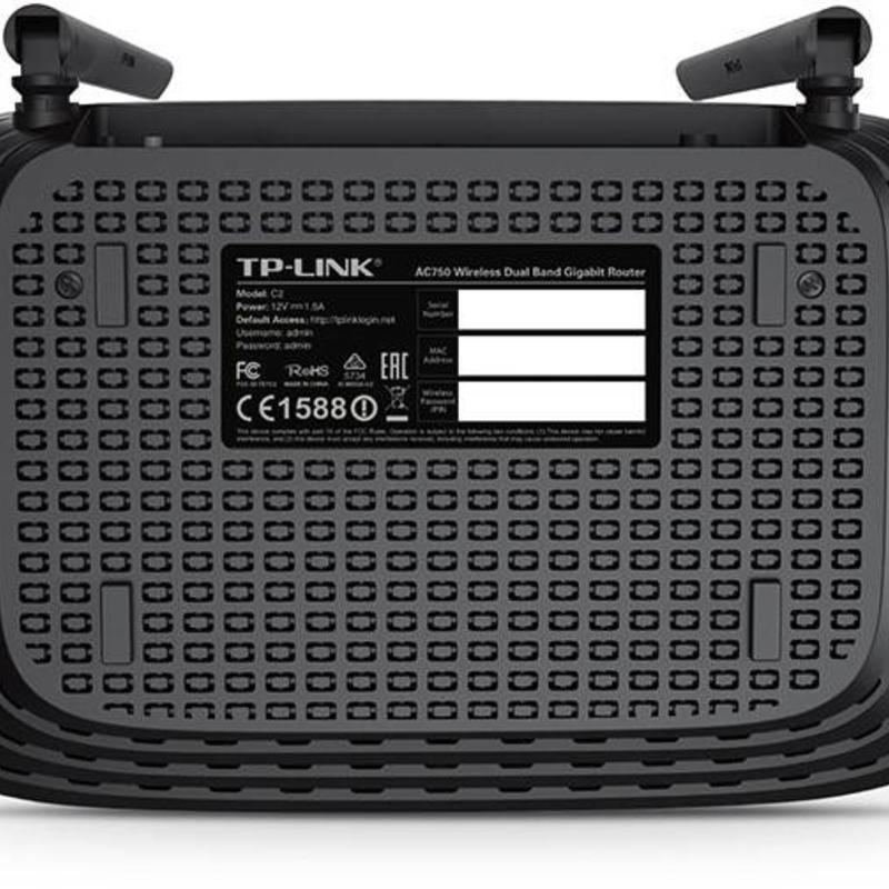 TP-Link TP-Link Archer C2 Dual band gigabit router zwart