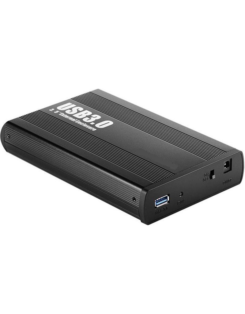 Logilink Logilink externe USB 3.0 3.5 inch HDD behuizing (Harde schijf niet inbegrepen)