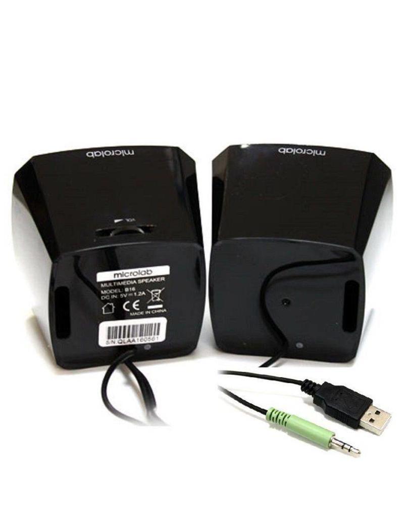 Microlab Microlab multimedia speakers B16 met USB voeding