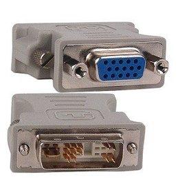 Overig DVI-A (M) naar VGA (F) (used)